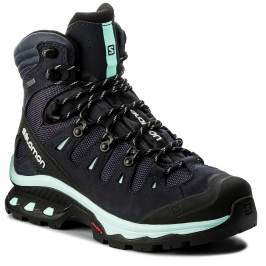 Trekingová obuv SALOMON - Quest 4D 3 Gtx W GORE-TEX 401570 20 G0 Graphite/Night Sky/Beach Glass