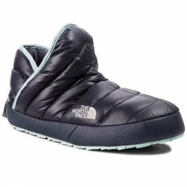 Papuče THE NORTH FACE - Thermoball Traction Bootie T9331H5QC Shiny Blackened Pearl/Blue Haze