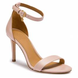Sandále TORY BURCH - Ellie 85mm Ankle-Strap 49348 Sea Shell Pink 654