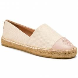 Espadrilky TORY BURCH - Color Block Flat 47016 Sea Shell Pink/Sea Shell Pink 659
