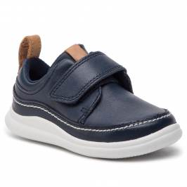 Poltopánky CLARKS - Cloud Ember T 261405046 Navy Leather