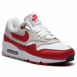 Topánky NIKE - Air Max 90/1 AQ1273 100 White/University Red