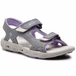 Sandále COLUMBIA - Childrens Techsun Vent BC4566 Tradewinds Grey/White Violet 032