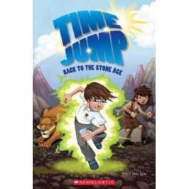 Time Jump: Back to the Stone Age (book & CD)