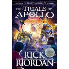 The Trials of Apollo Book 3 The Burning Maze